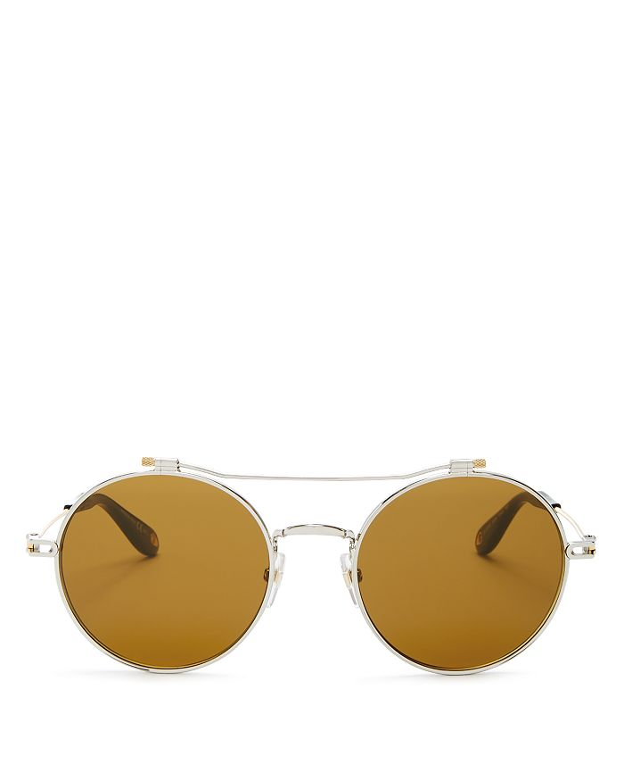 1dd9a4c570f0 Givenchy Men's Brow Bar Round Sunglasses, 53mm | Bloomingdale's