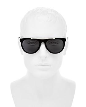 82bb8d11933 ... 56mm Versace Collection - Men s Flat Top Square Sunglasses