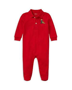 Ralph Lauren Boys Polo Bear Cotton Coverall  Baby