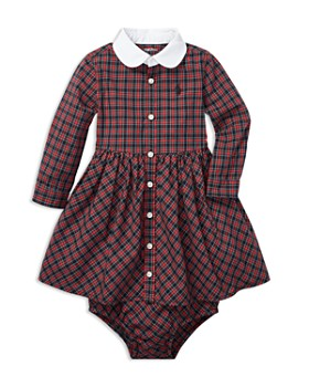Ralph Lauren - Girls' Tartan Shirtdress & Bloomer - Baby
