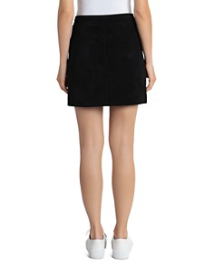 BAGATELLE.NYC - Suede Mini Skirt