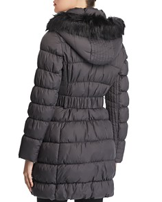 Via Spiga - Pillow Collar Ruched Puffer Coat