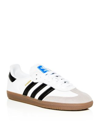 Adidas Men's Samba OG Leather Lace Up Sneakers Men Bloomingdale's