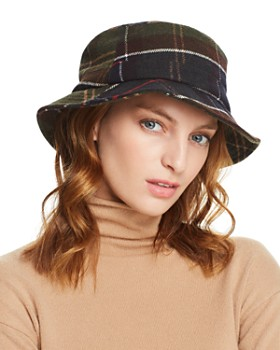 Barbour - Galloway Plaid Bucket Hat