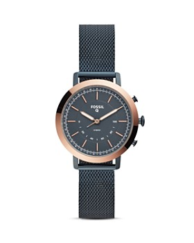 Fossil - Q Neely Blue Hybrid Smartwatch, 34mm