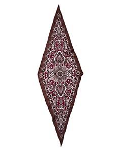 Echo - Ornate Paisley Print Silk Scarf