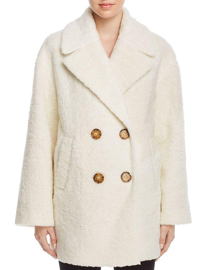 kate spade new york - Teddy Faux Fur Coat