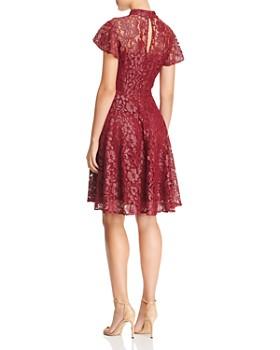 Betsey Johnson - Mock-Neck Lace Dress