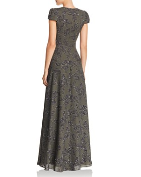 Fame and Partners - Rumi Floral Georgette Gown - 100% Exclusive