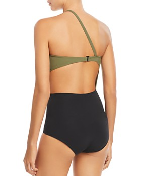Flagpole - Ali One-Shoulder One Piece Swimsuit