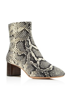 c053b718f68 Loeffler Randall - Women s Gema Graphite Zip-Up Booties ...