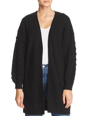 SAGE THE LABEL Sage The Label Up In Smoke Cardigan in Black