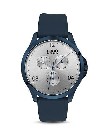 HUGO - #RISK Blue & Silver Watch, 41mm