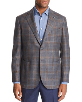 L.B.M - Plaid Slim Fit Sport Coat