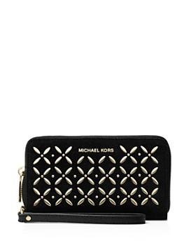 8272afc9a146 Suede Designer Wallets for Women   iPhone Wristlets - Bloomingdale s