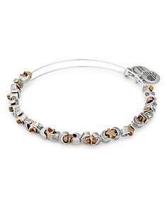 Alex and Ani - Moon & Star Expandable Beaded Bracelet