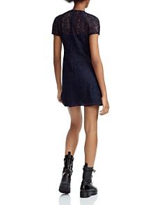 Maje - Repiz Lace A-Line Mini Dress