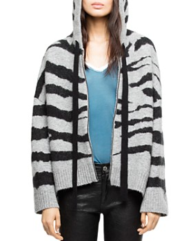 Zadig & Voltaire - Lennox Hooded Cardigan