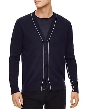 Sandro Outline Cardigan Sweater