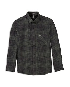Volcom - Boys' Buffalo Glitch Shirt - Big Kid