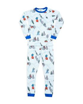 BedHead - Unisex Peanuts® Winter Holiday Pajama Shirt & Pants Set - Big Kid