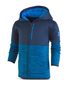 Under Armour - Boys' Color-Block Zip-Up Hoodie - Little Kid