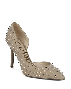 Sam Edelman - Women's Hadlee Pointed Toe Studded Pumps