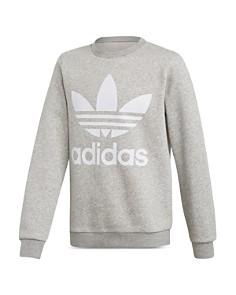 Adidas - Girls' Classic Trefoil Logo-Print Sweatshirt - Big Kid