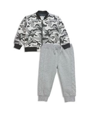 Sovereign Code Boys' Vapor + Lisbon Camouflage-Print Bomber Jacket & Sweatpants Set - Baby