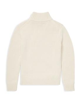 Ralph Lauren - Boys' Cotton Quarter-Zip Sweater - Big Kid