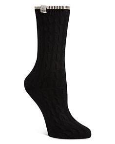 Calvin Klein - Cable Crew Socks