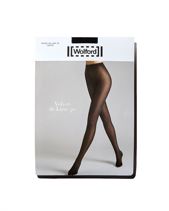 0656de3ea5e77 Wolford Velvet de Luxe 50 Tights | Bloomingdale's