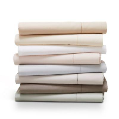 Hudson Park 500TC SATEEN PIMA Cotton 4 Pillowcases EXCLUSIVE MARINE BLUE NEW