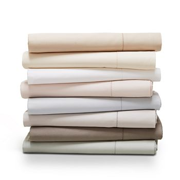 Hudson Park Collection - 680TC Flat Sateen Sheet, King - 100% Exclusive
