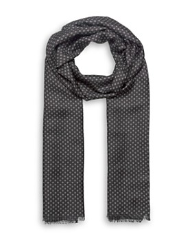 68a2aaadc3f The Kooples - Circle Print Fringed Scarf ...