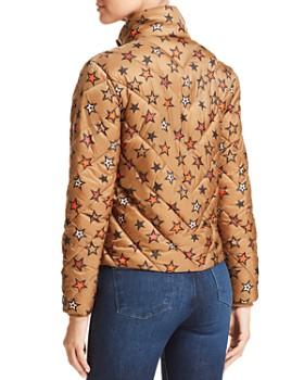Scotch & Soda - Star Print Cropped Puffer Jacket