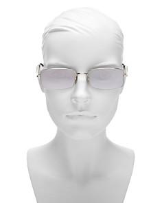 Saint Laurent - Women's Slim Square Sunglasses, 56mm