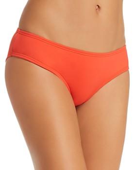 VINCE CAMUTO - Shirred Bikini Bottom