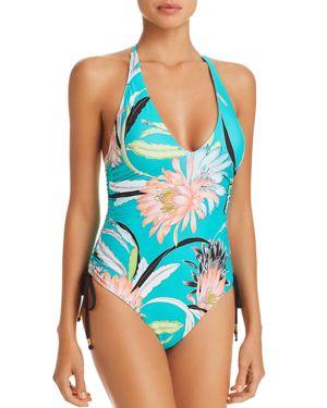 Trina Turk Shangri-La Floral One Piece Swimsuit
