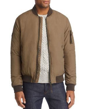 SUPERDRY Air Corps Bomber Jacket in Light Khaki