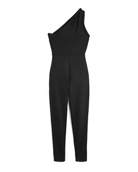 d8542270b399 ... Miss Behave - Girls  One-Shoulder Jumpsuit - Big Kid