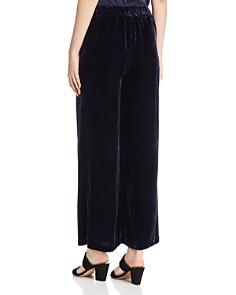 Eileen Fisher Petites - Velvet Wide-Leg Pants