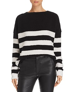 ATM Anthony Thomas Melillo - Striped Chenille Sweater