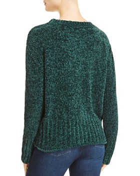 AQUA - Chenille Long Sleeve Sweater - 100% Exclusive