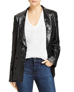 AQUA - Sequin Blazer - 100% Exclusive