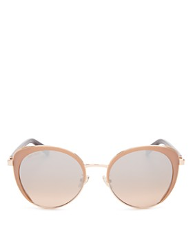 Jimmy Choo - Women's Gabby Mirrored Cat Eye Sunglasses, 56mm