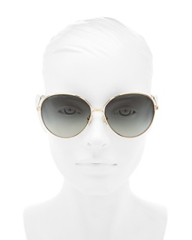 Jimmy Choo - Women's Neva Round Sunglasses, 60mm