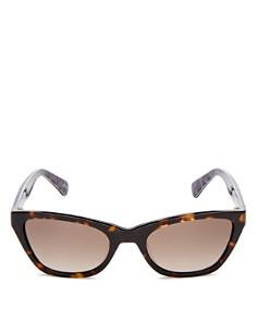 kate spade new york - Women's Johneta Square Sunglasses, 51mm
