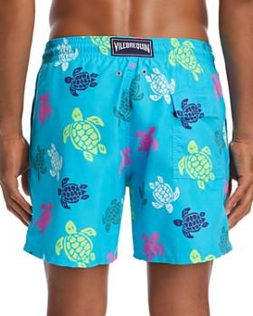 Vilebrequin - Moorea Multicolored Turtle-Print Swim Shorts