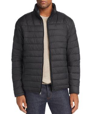 HAWKE & CO. Lightweight Packable Puffer Jacket in Black